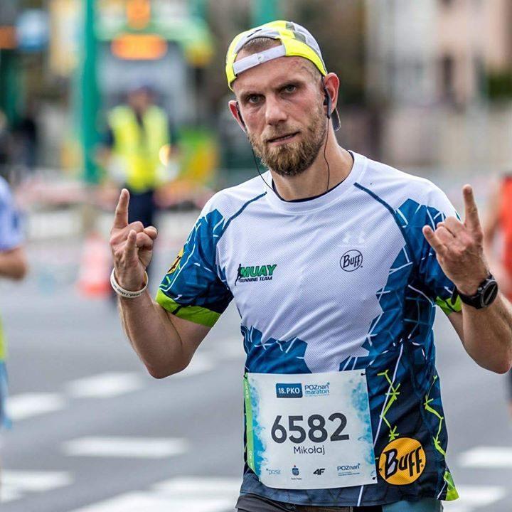 18 Poznań Maraton - Mikołaj Lasek (Pan Wuefista)